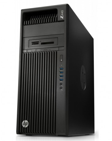 HP Z440 Workstation XEON E5-1620V3 16GB DDR3 256GB SSD 2TB SATA HDD Quadro K4000 Win 10 Pro