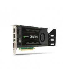 HP NVidia Quadro K4000 3GB GDDR5 1xDVI, 2x DisplayPort