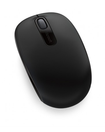 Microsoft Wireless Mobile 1850 Mouse - Optical - Wireless - 3 Button(s) - Black