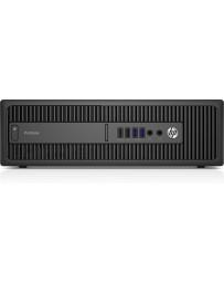 HP ProDesk 600 G2 SFF, I5-6500 3.20Ghz, 8GB DDR4, 256GB SSD/DVD, Intel HD, Win 10 Pro