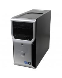 Dell Precision T1600 Intel Xeon E3-1270 3.40GHz, 8GB DDR3, 128GB SSD + 500GB HDD, Quadro 2000 1GB, Win 10 Pro